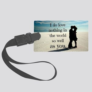 Nothing in the World Large Luggage Tag