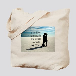 Nothing in the World Tote Bag