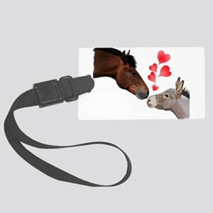 will you be my valentine Luggage Tag