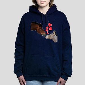will you be my valentine Women's Hooded Sweatshirt