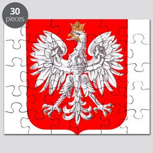 Polska Football Coat of Arms Euro 2012 Tour Puzzle