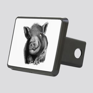 Lucy the wonder pig Hitch Cover