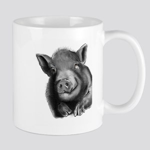 Lucy the wonder pig Mugs