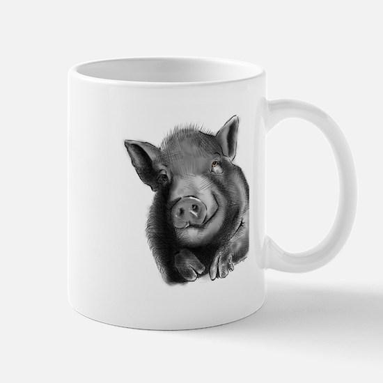 Lucy the wonder pig Mugs