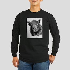 Lucy the wonder pig Long Sleeve T-Shirt