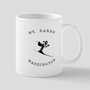 Mount Baker Washington Ski Mugs