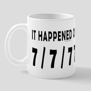7/7/77 Mug