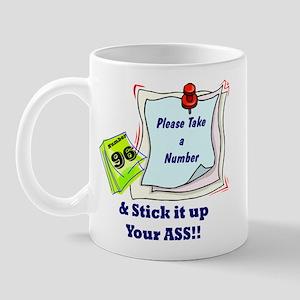 Take a Number... Mug