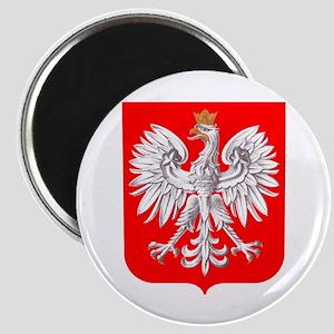 Polska Football Coat of Arms Euro 2012 Tou Magnets