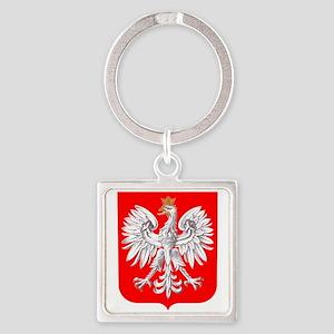 Polska Football Coat of Arms Euro 2012 T Keychains