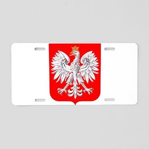 Polska Football Coat of Arm Aluminum License Plate