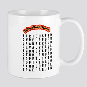 Echocardiogram Word Search 11 Oz Ceramic Mug Mugs