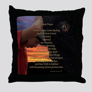 Lakota Prayer Throw Pillow