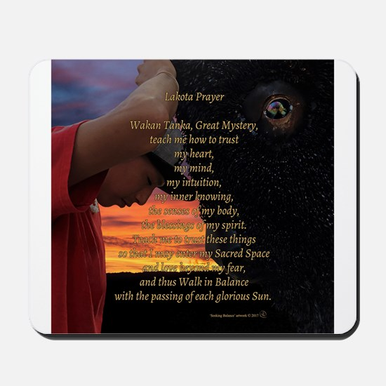 Lakota Prayer Mousepad
