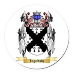 Ingoldsby Round Car Magnet