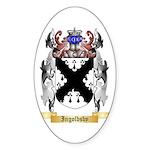 Ingoldsby Sticker (Oval 50 pk)