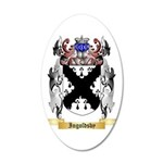 Ingoldsby 35x21 Oval Wall Decal