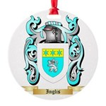 Inglis (Scotland) Round Ornament