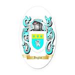 Inglis (Scotland) Oval Car Magnet