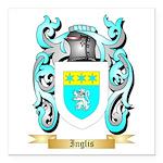 Inglis (Scotland) Square Car Magnet 3