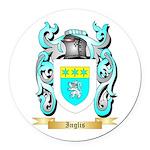 Inglis (Scotland) Round Car Magnet