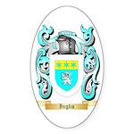 Inglis (Scotland) Sticker (Oval 10 pk)