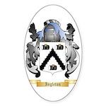Ingleton Sticker (Oval)