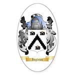 Ingleton Sticker (Oval 50 pk)