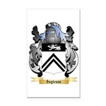 Ingleson Rectangle Car Magnet