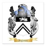 Ingleson Square Car Magnet 3