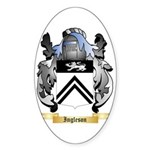 Ingleson Sticker (Oval 10 pk)
