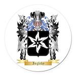 Ingleby Round Car Magnet