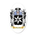 Ingilby Oval Car Magnet