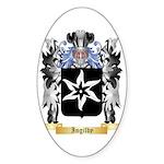 Ingilby Sticker (Oval)