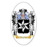 Ingilby Sticker (Oval 50 pk)