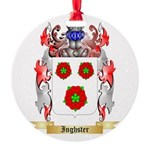Inghster Round Ornament