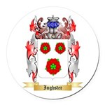 Inghster Round Car Magnet