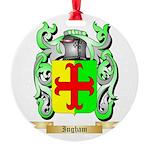 Ingham Round Ornament