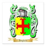 Ingham Square Car Magnet 3
