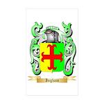 Ingham Sticker (Rectangle 50 pk)
