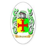 Ingham Sticker (Oval 50 pk)