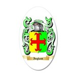 Ingham 35x21 Oval Wall Decal