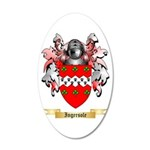 Ingersole 20x12 Oval Wall Decal