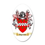 Ingersole 35x21 Oval Wall Decal