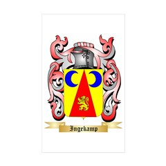 Ingekamp Sticker (Rectangle 10 pk)