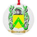 Inge Round Ornament