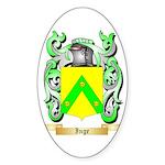 Inge Sticker (Oval 10 pk)