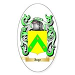 Inge Sticker (Oval 50 pk)