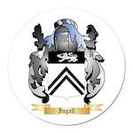 Ingall Round Car Magnet