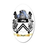 Ingall 35x21 Oval Wall Decal